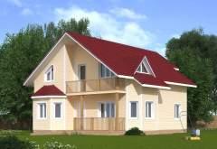 Каркасный дом КСД-11 (нажмите для увеличения)