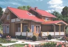 Деревянный дом ФАБ-117 (нажмите для увеличения)
