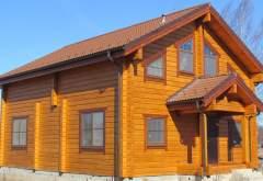 Деревянный дом ФАБ-109 (нажмите для увеличения)