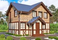 Каркасный дом КД-02 (нажмите для увеличения)