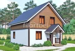 Каркасный дом КД-04 (нажмите для увеличения)
