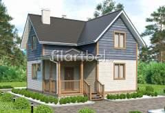 Каркасный дом КД-21 (нажмите для увеличения)