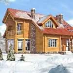 Строительство дома или бани зимой