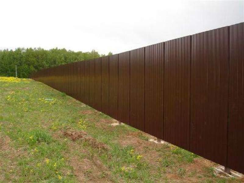 Металлопрофиль забор