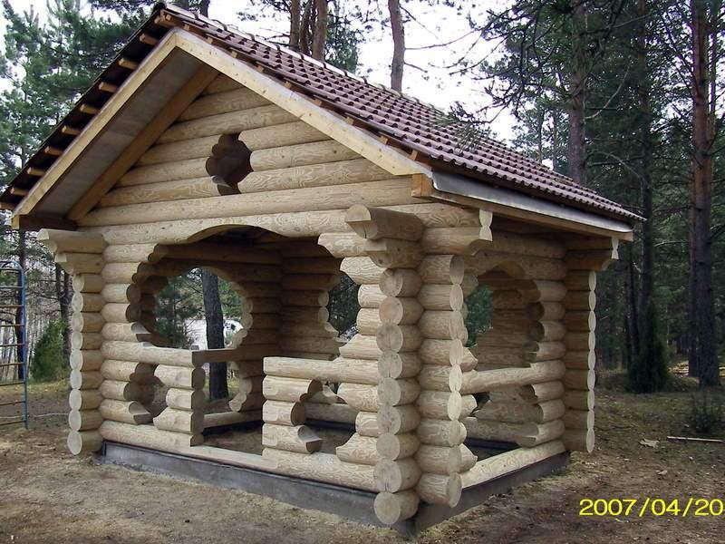 Дом ручной рубки
