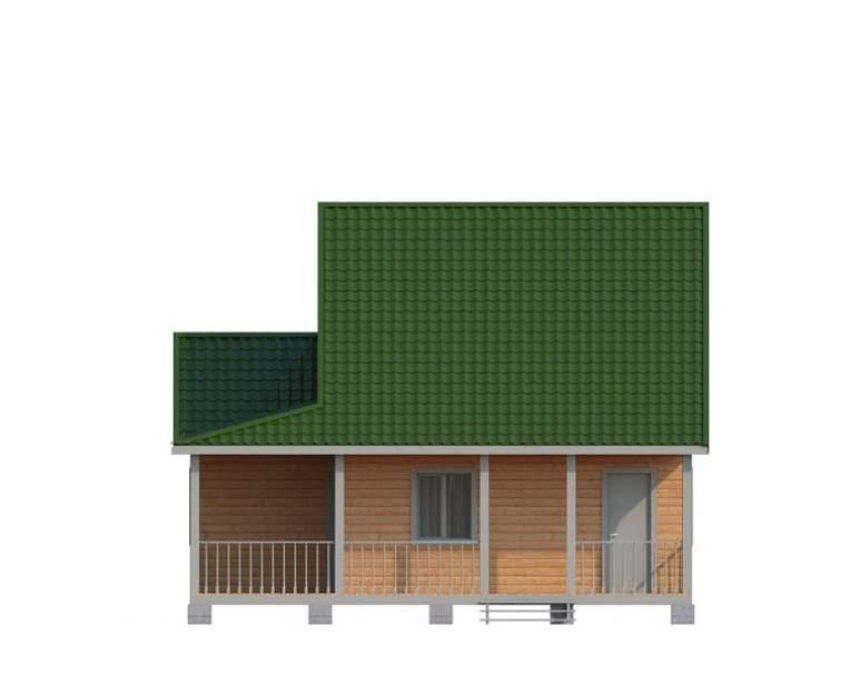 Дом из бруса КА-130 (нажмите для увеличения)