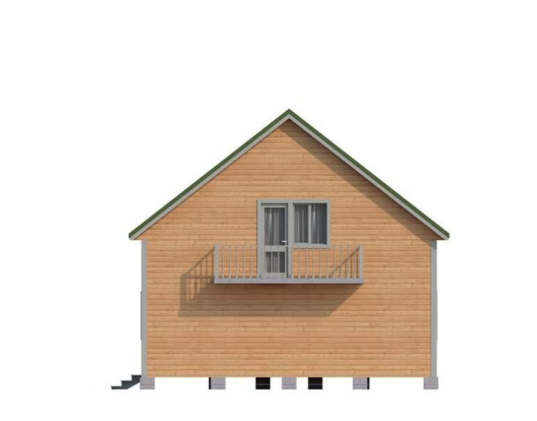 Дом из бруса КА-131 (нажмите для увеличения)
