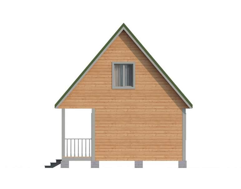 Дом из бруса КА-118 (нажмите для увеличения)