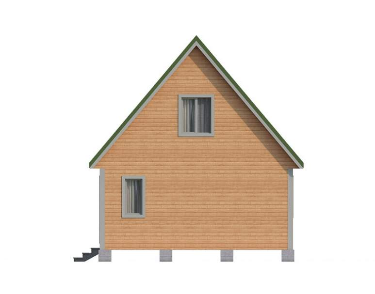 Дом из бруса КА-119 (нажмите для увеличения)