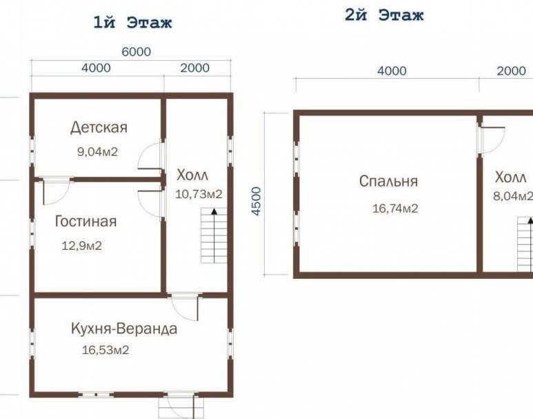 Дачный дом ДД-24 (нажмите для увеличения)