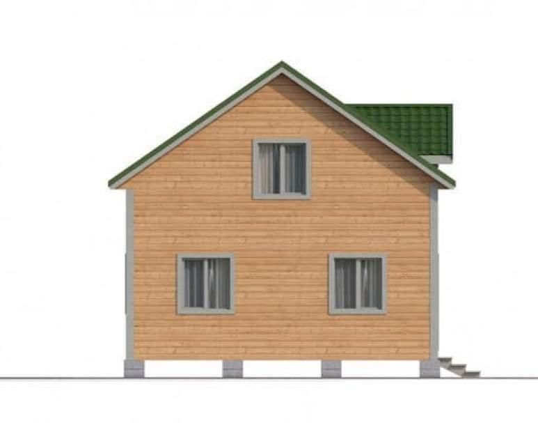 Дом из бруса КА-116 (нажмите для увеличения)