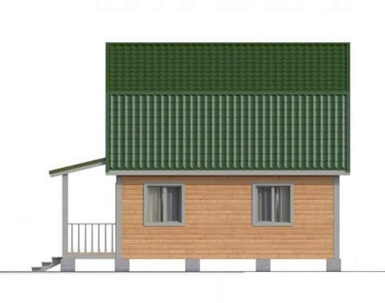 Дом из бруса КА-113 (нажмите для увеличения)