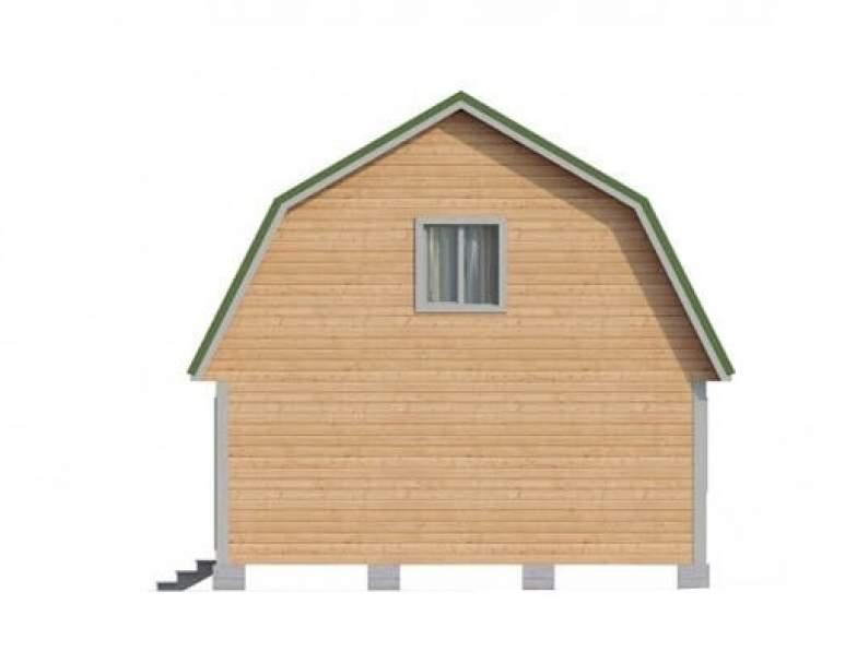 Дом из бруса КА-102 (нажмите для увеличения)