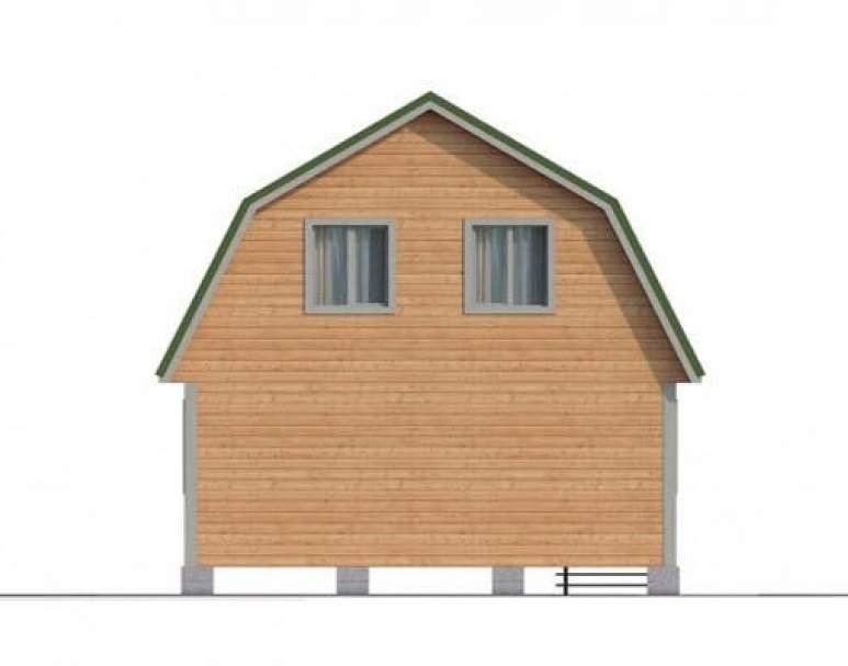 Дом из бруса КА-103 (нажмите для увеличения)