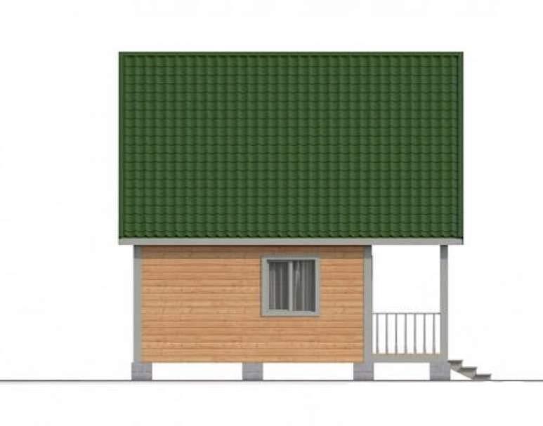Дом из бруса КА-112 (нажмите для увеличения)