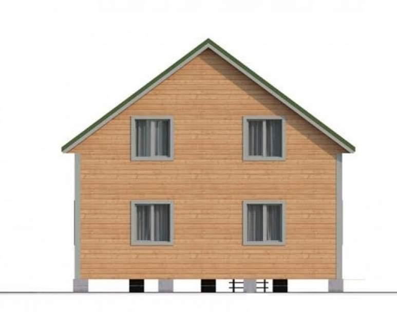 Дом из бруса КА-114 (нажмите для увеличения)