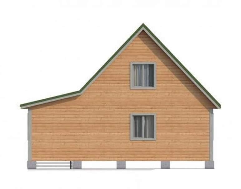 Дом из бруса КА-105 (нажмите для увеличения)