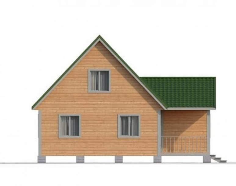 Дом из бруса КА-109 (нажмите для увеличения)