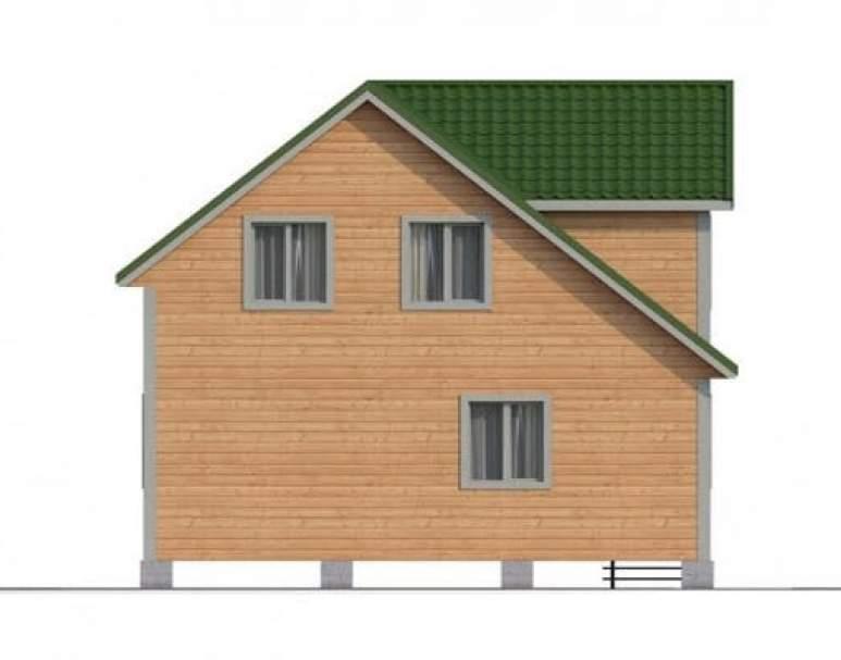 Дом из бруса КА-110 (нажмите для увеличения)