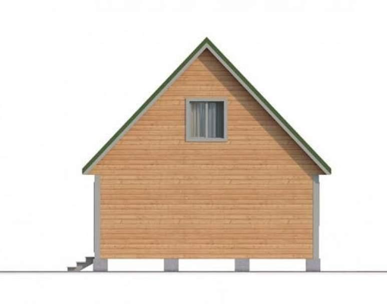 Дом из бруса КА-111 (нажмите для увеличения)