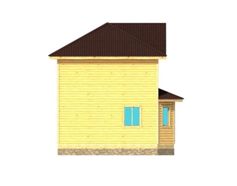 Каркасный дом АФК-104 (нажмите для увеличения)