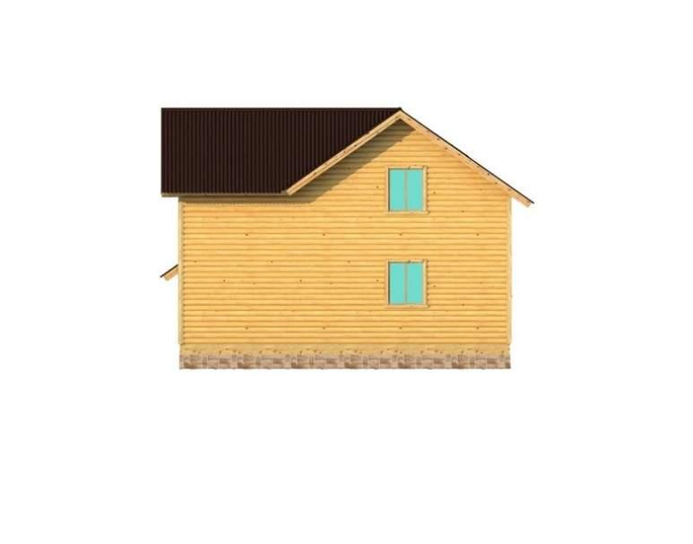 Каркасный дом АФК-105 (нажмите для увеличения)