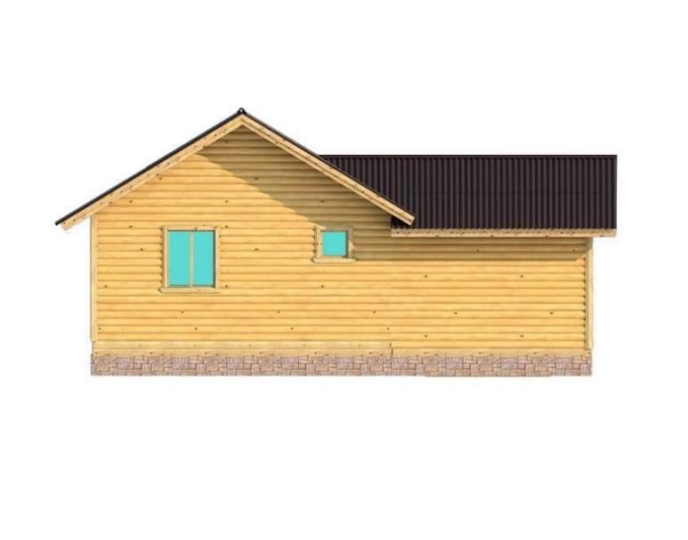 Каркасный дом АФК-119 (нажмите для увеличения)