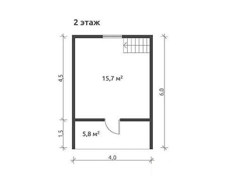 Дом из бруса КА-104 (нажмите для увеличения)