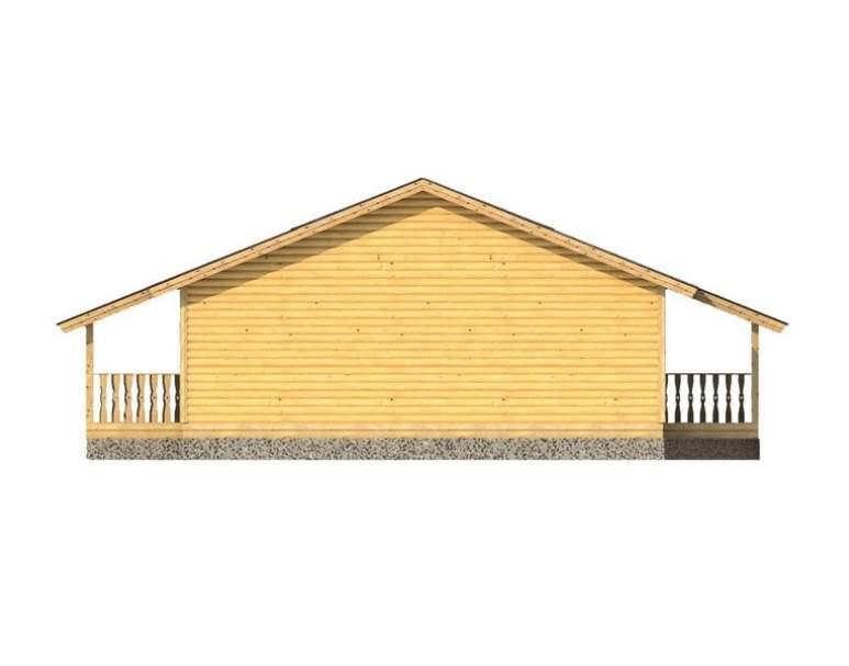 Каркасный дом АФК-123 (нажмите для увеличения)