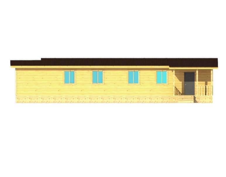 Каркасный дом АФК-129 (нажмите для увеличения)