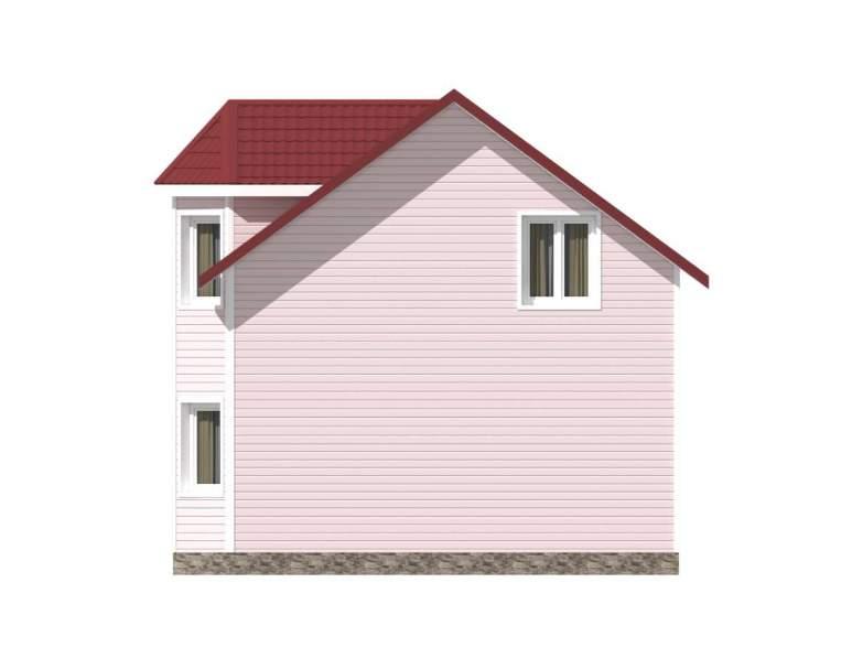 Каркасный дом КСД-03 (нажмите для увеличения)