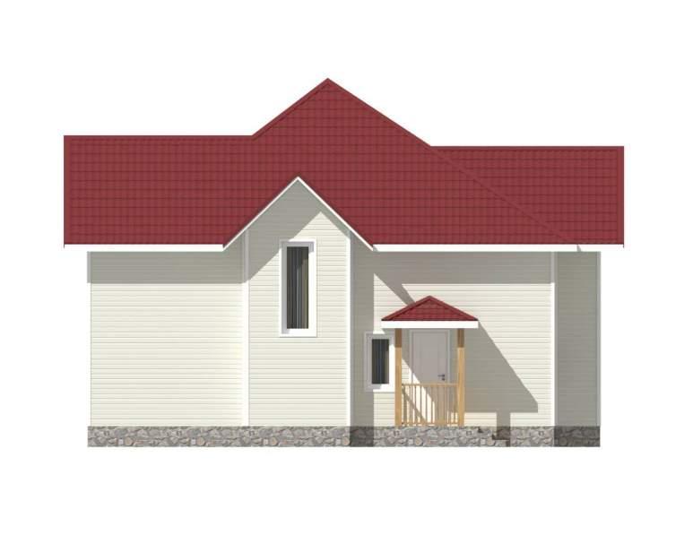Каркасный дом КСД-13 (нажмите для увеличения)
