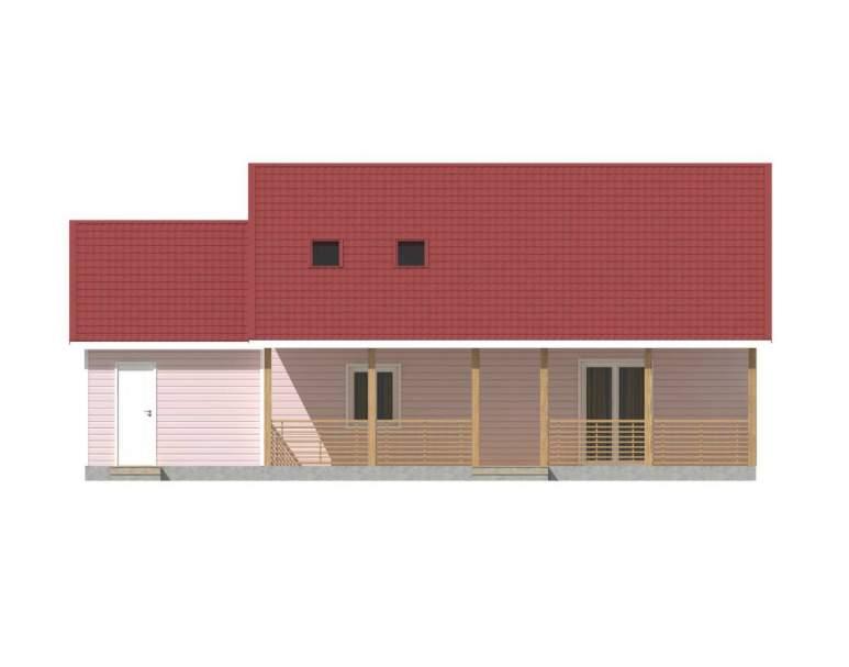 Каркасный дом КСД-19 (нажмите для увеличения)