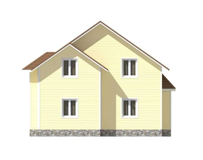 Каркасный дом КСД-07 (нажмите для увеличения)
