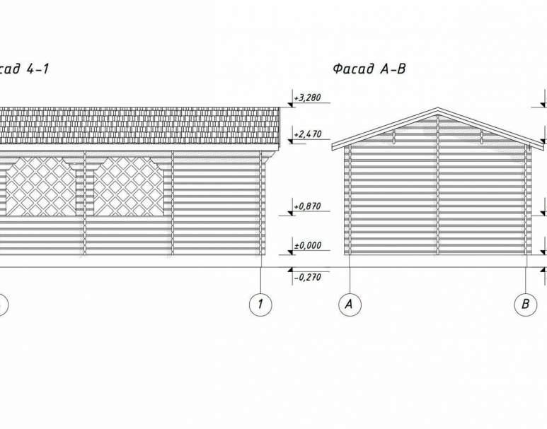 Беседка садовая БД-14 (5.9х3.9) (нажмите для увеличения)