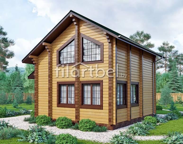 Дачный дом БД-01 (нажмите для увеличения)