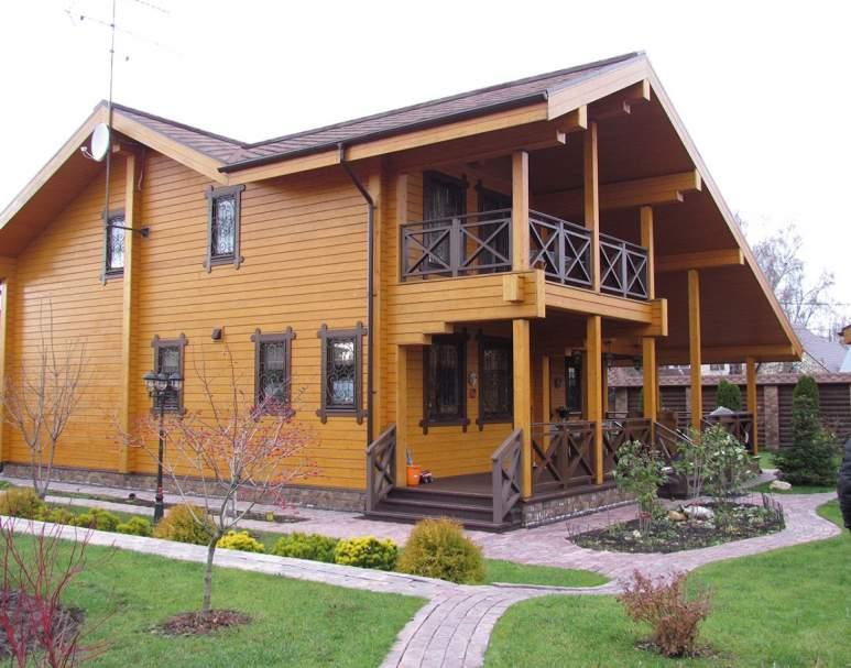 Деревянный дом ФАБ-113 (нажмите для увеличения)