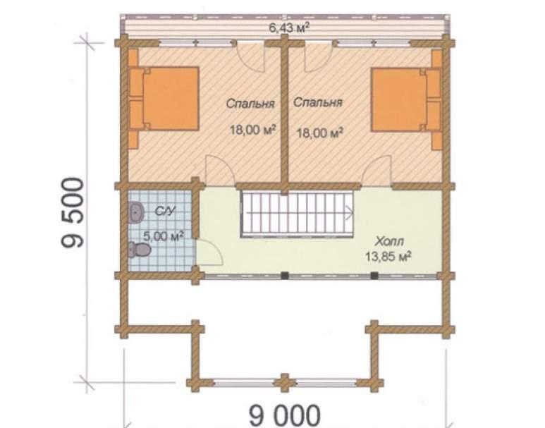 Дом-шале ФАБ-115 (нажмите для увеличения)