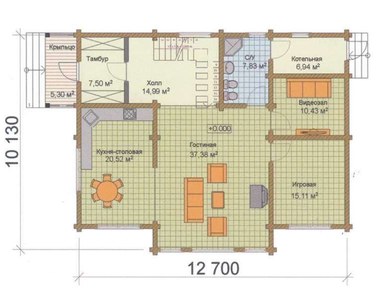 Дом-шале ФАБ-116 (нажмите для увеличения)