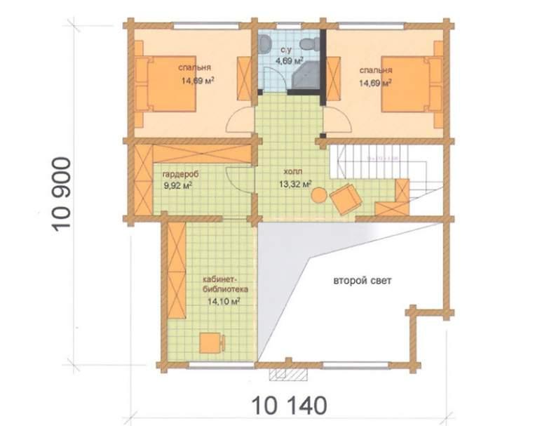 Загородный дом ФАБ-123 (нажмите для увеличения)