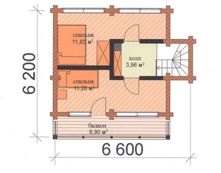 Финский дом ФАБ-102 (нажмите для увеличения)