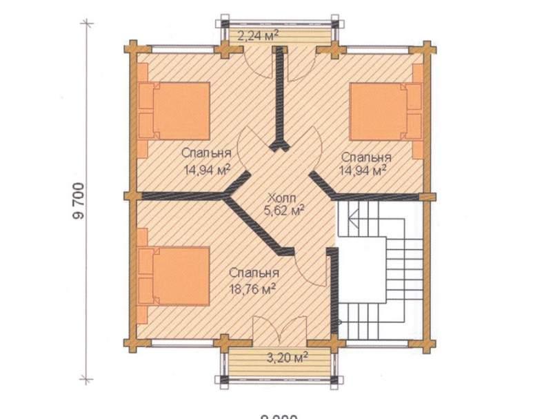 Дом ФАБ-107 (нажмите для увеличения)