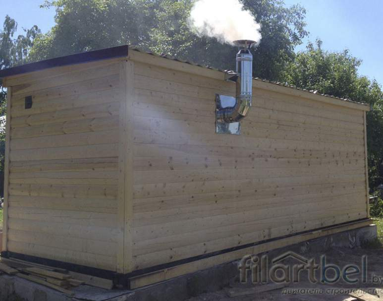Готовая баня 6×2,23м (нажмите для увеличения)