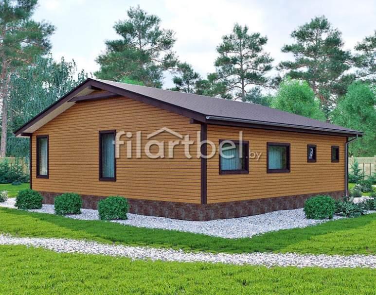Каркасный дом КД-07 (нажмите для увеличения)