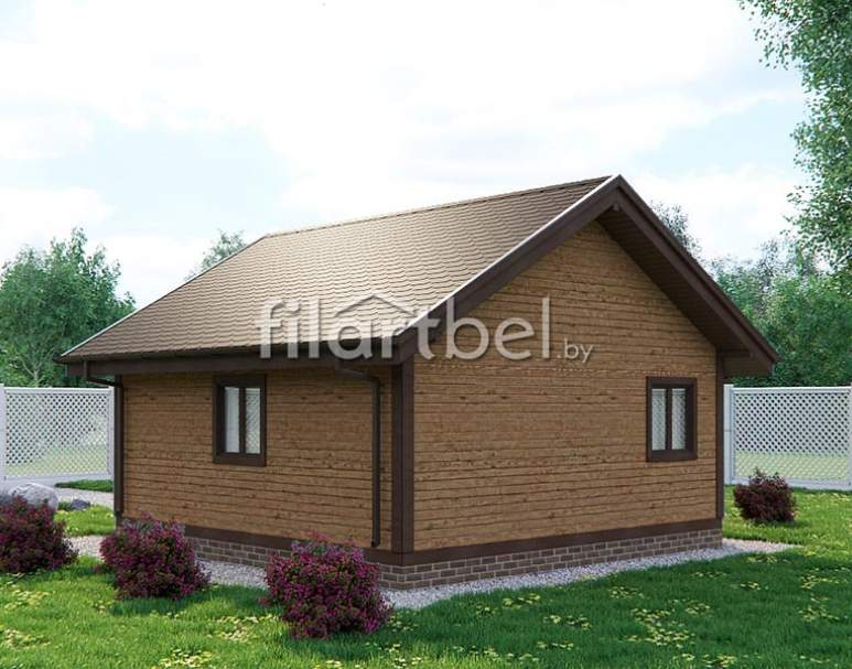 Каркасный дом КД-11 (нажмите для увеличения)