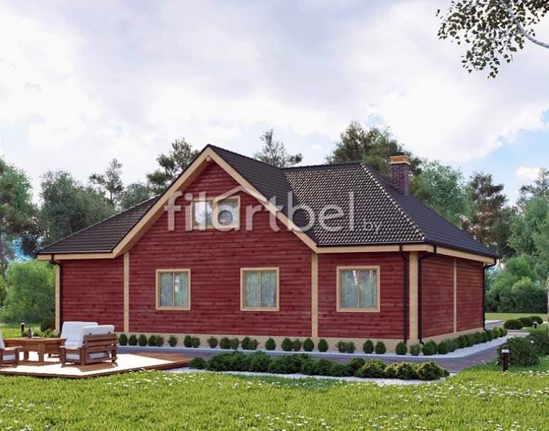 Каркасный дом КД-12 (нажмите для увеличения)