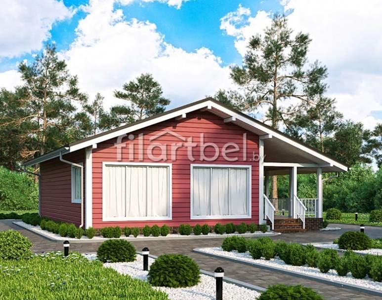 Каркасный дом КД-22 (нажмите для увеличения)