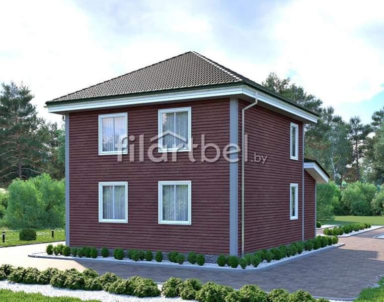 Каркасный дом КД-24 (нажмите для увеличения)