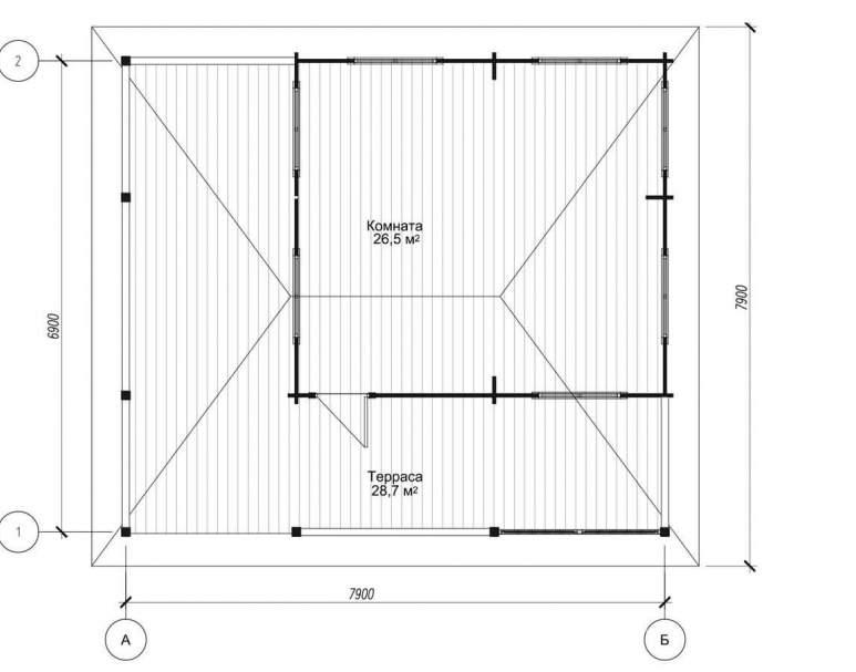 Летняя кухня ЛК-2 (нажмите для увеличения)