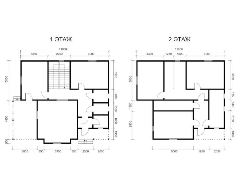 Каркасный дом КСД-15 (нажмите для увеличения)